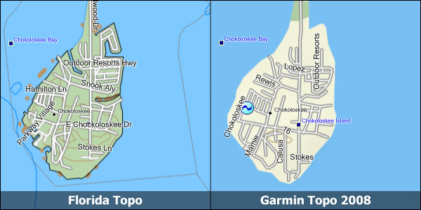 Florida Topo Garmin Compatible Map GPSFileDepot - Florida topographic map free