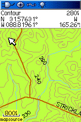 Topographic Map Mississippi.Mississippi Topo Garmin Compatible Map Gpsfiledepot