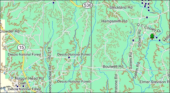 Mississippi Topo Garmin Compatible Map GPSFileDepot - Buy Us Topo24k Garmin Maps