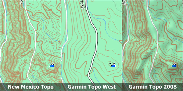 New Mexico Topo Garmin Compatible Map - GPSFileDepot
