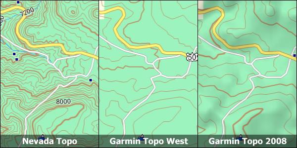 Nevada Topo Garmin Compatible Map GPSFileDepot - Buy Us Topo24k Garmin Maps