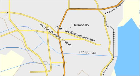 Sonora Mexico Streets Garmin Compatible Map GPSFileDepot