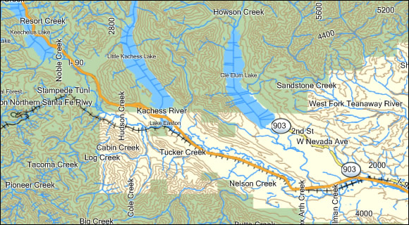 Washington K Topo Garmin Compatible Map GPSFileDepot - Eastern us topographic map