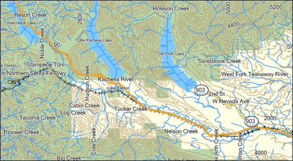 Washington 24K Topo Garmin Compatible Map - GPSFileDepot