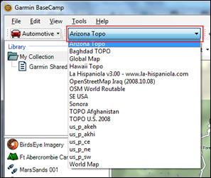 How To Open Maps In Garmin BaseCamp - GPSFileDepot