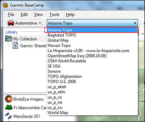 How To Open Maps In Garmin BaseCamp GPSFileDepot - Can you download us trail maps to garmin